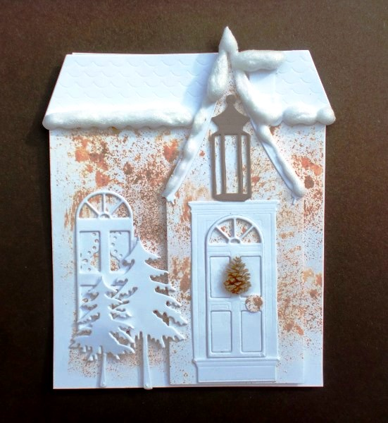 Charmingly Creative: Shaped Christmas House - photo#45