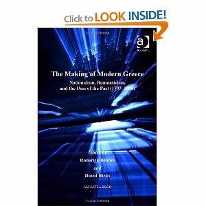 http://www.amazon.com/Making-Hellenic-Studies-College-Publications/dp/0754664988