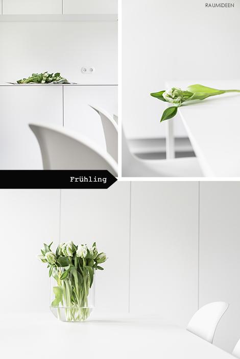 Dekoration mit Tulpen