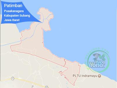 PETA : Desa Patimban, Kecamatan Pusakanagara