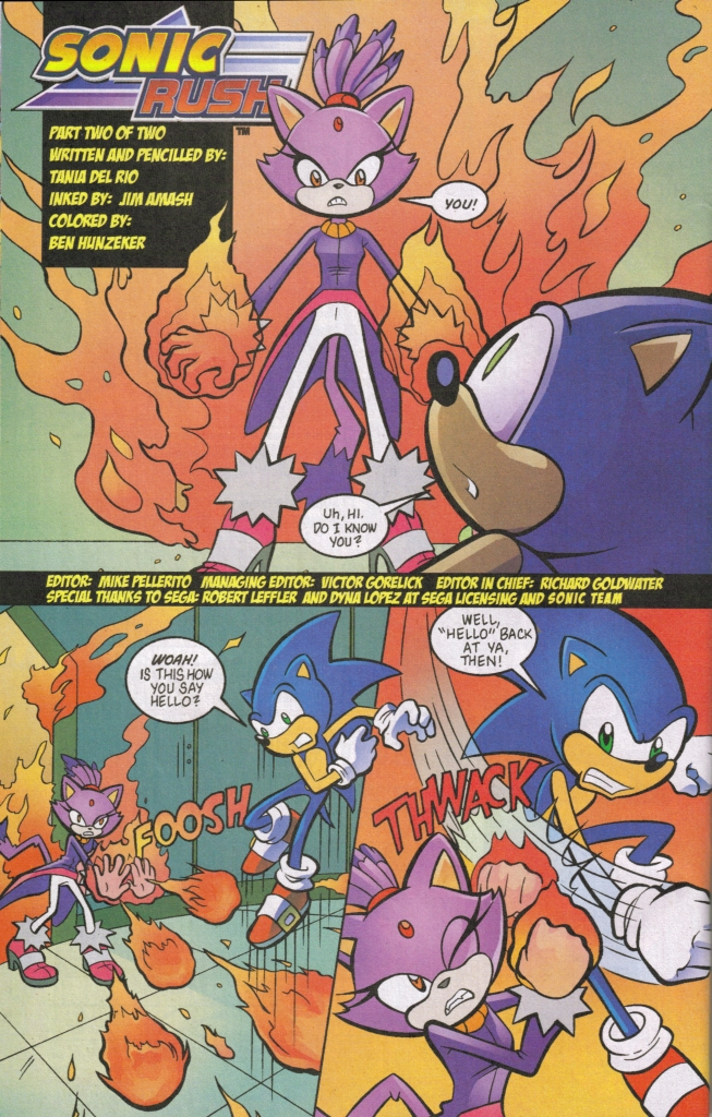 Read online Sonic The Hedgehog comic -  Issue #161 - 22
