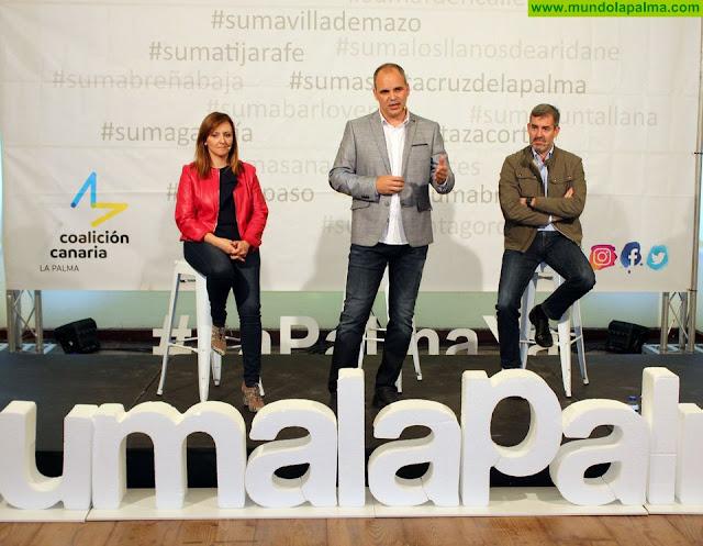 Coalición Canaria presenta a Toni Acosta como candidato a la Alcaldía de Santa Cruz de La Palma ante más de 200 personas asistentes
