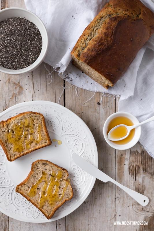 Bananenbrot Rezept Thermomix gesund #bananenbrot #thermomix #frühstück