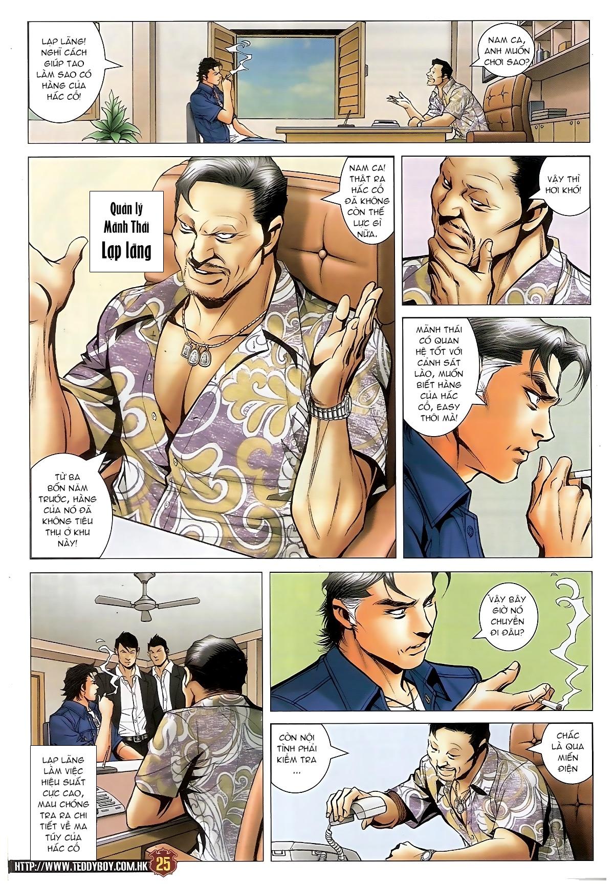 Người Trong Giang Hồ - Chapter 1548: Cha con ra trận - Pic 21