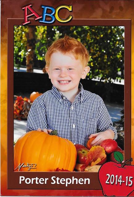 Porter's Preschool Pic