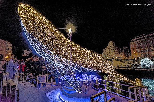 Ballena de Colores, Navidad en Bilbao por El Guisante Verde Project