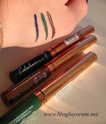 Renkli Likit Eyeliner Flormar Colorliner 4
