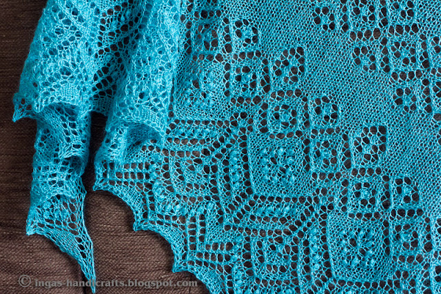 MM pitsiline salakudumine / MM Secret Lace Knitting V