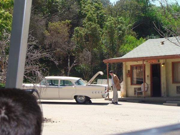 Vorführung von Psycho Norman Bates in den Universal Studios in Hollywood, CA