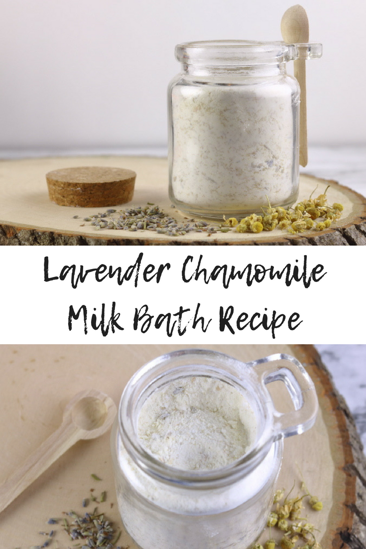 Lavender Chamomile Milk Bath Recipe Excellent For Dry Irritated Skin Everything Pretty