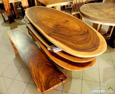 Suar Wood Coffee Tables