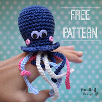 Crochet octopus amigurumi