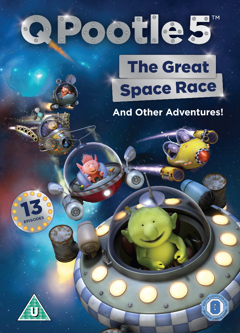 Q Pootle 5 ;  The Great Space Race and Other Adventures on DVD