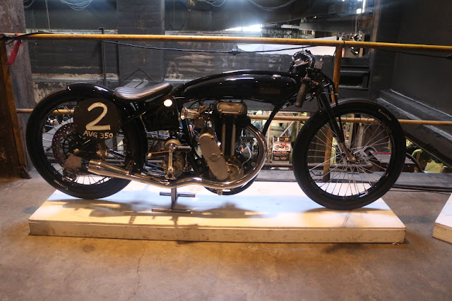 the one moto show number 9 custom build motorcycle