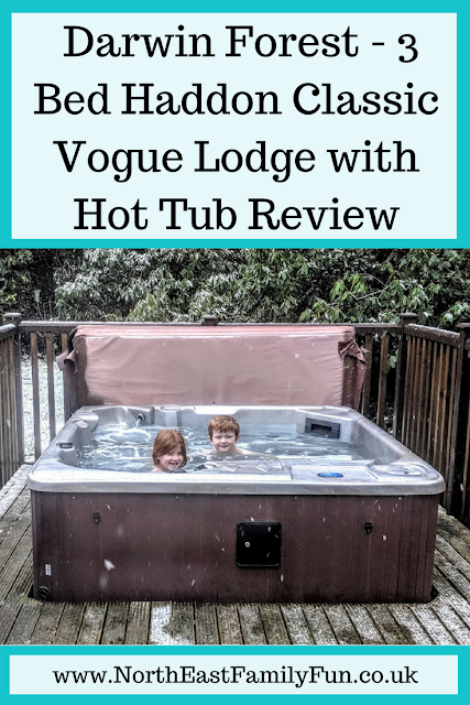Darwin Forest Country Park - 3 Bed Haddon Classic Vogue Lodge with Hot Tub Review