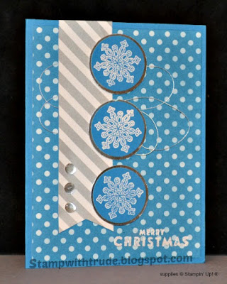 Stamp with Trude, Flurry of Wishes, Stampin' Up!, Christmas