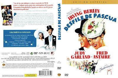 Carátula dvd: Desfile de Pascua / Easter Parade / Cartel / Película / Descargar / Online