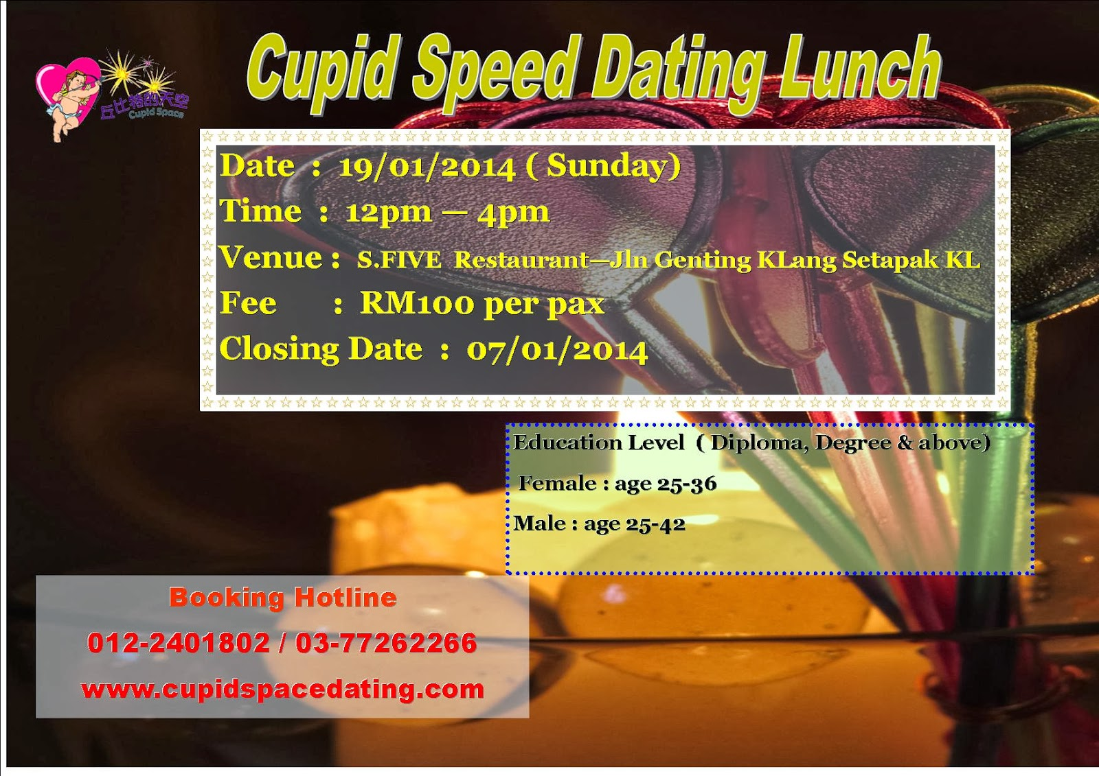 lunch speed dating hong kong