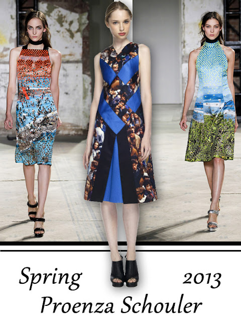 Proenza Schouler Spring 2013 Photo Print