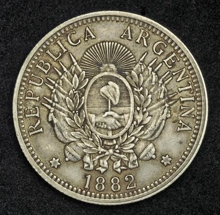 republica argentina libertad coin