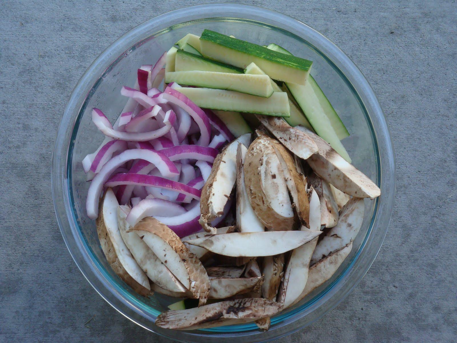Portobello and Zucchini Tacos - Alida's Kitchen
