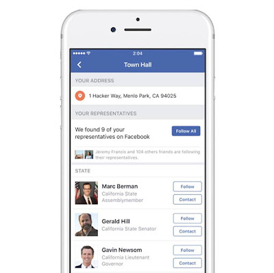 Facebook Launched A Tool Help You Find And Contact Your Elected Representatives