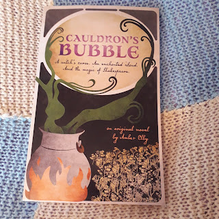 cauldron's bubble, shakespeare book, book with shakespeare references, books to read, book recommendations, fantasy books, book review, fantasy book review,