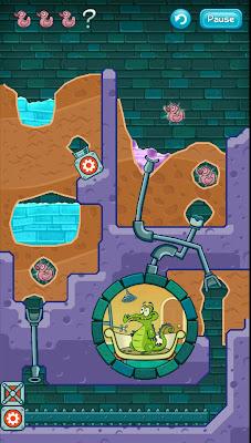 Where´s My Water? Ajude o jacaré tomar banho nesse excelente jogo para Android 3