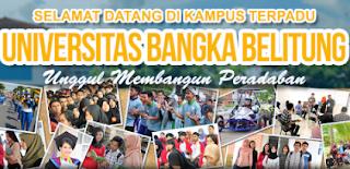 Pengumuman SNMPTN dan SBMPTN UNIVERSITAS BANGKA BELITUNG 2019/2020