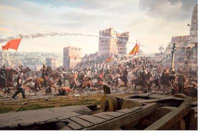 Penaklukan Konstantinopel oleh Utsmani - pustakapengetahuan.com