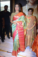 Shriya Saran Looks Stunning in Silk Saree at VRK Silk Showroom Launch Secundrabad ~  Exclusive 100.JPG