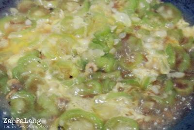 ZapPaLang: 滑蛋丝瓜 Stir Fried Loffa Gourd with Egg
