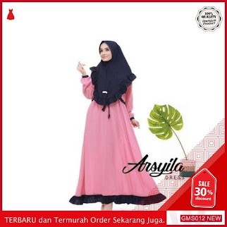 GMS012 KRSRH012A20 Arsyla Dress Wolfis Busui Friendly Dropship SK0009259457