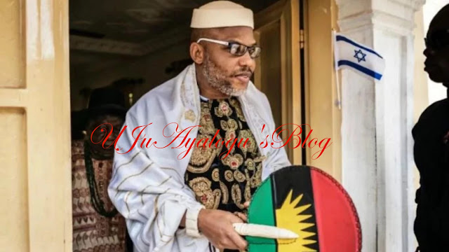 Arrest me in Biafra land and meet your death; Kanu tells Buhari.
