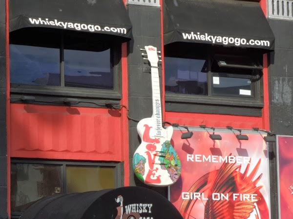 Love 'Forever Changes' homage Guitar Whisky A Go-Go