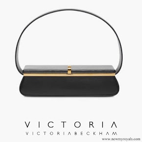 Meghan Markle carried Victoria Beckham Black Powder Box