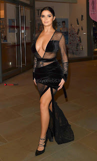 Beautiful Gorgeous  of Demi Rose Amazing   lovely Round  at Madison Launch Party Nov 2017