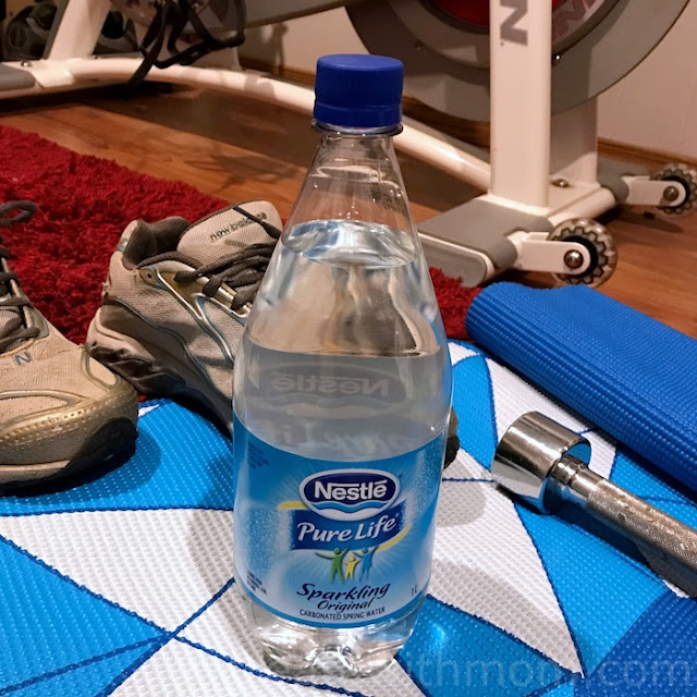 drinking water exercising