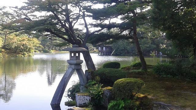 Linterna de los Jardines de Kenrouken