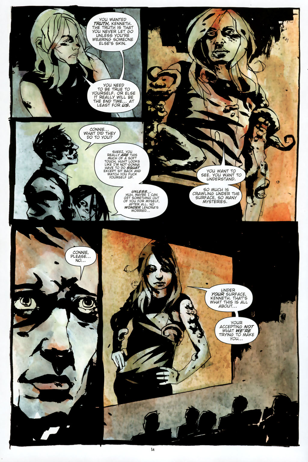 Read online Silent Hill: Dead/Alive comic -  Issue #2 - 16