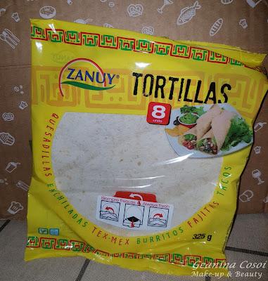 Zanuy tortillas de trigo Caja Degustabox Mayo 2016