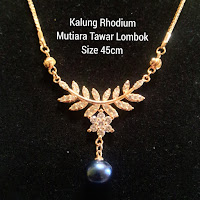 Model Kalung Perhiasan Mutiara Terbaru Lombok