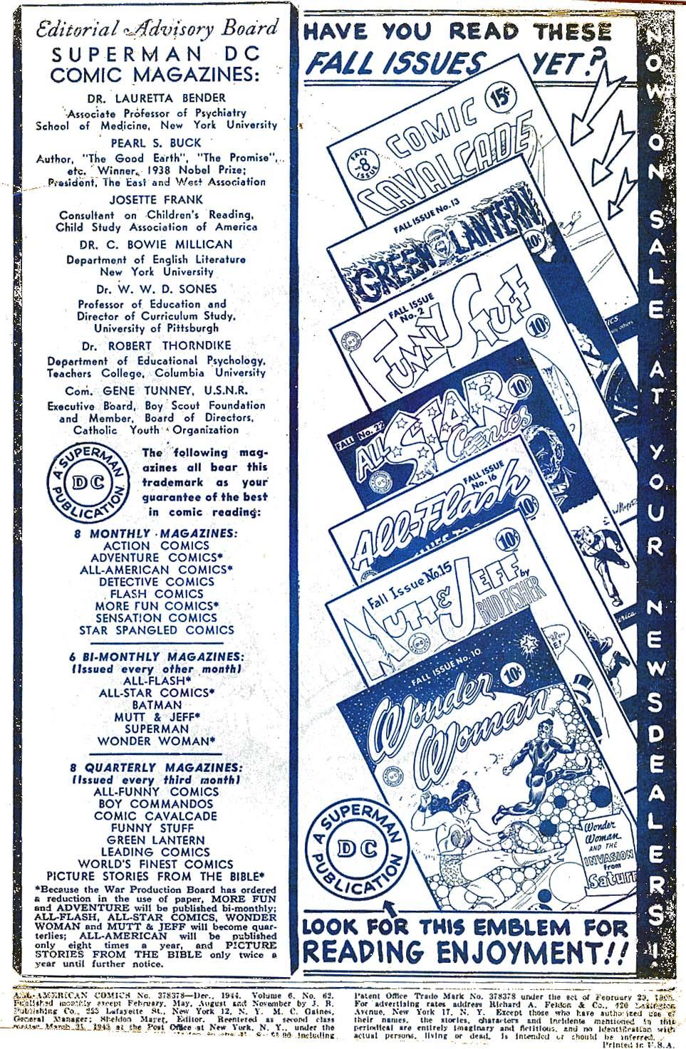Read online All-American Comics (1939) comic -  Issue #62 - 2
