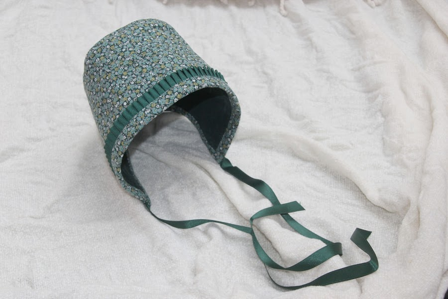 DIY Como hacer capota de niña (patrón gratis incluido)
