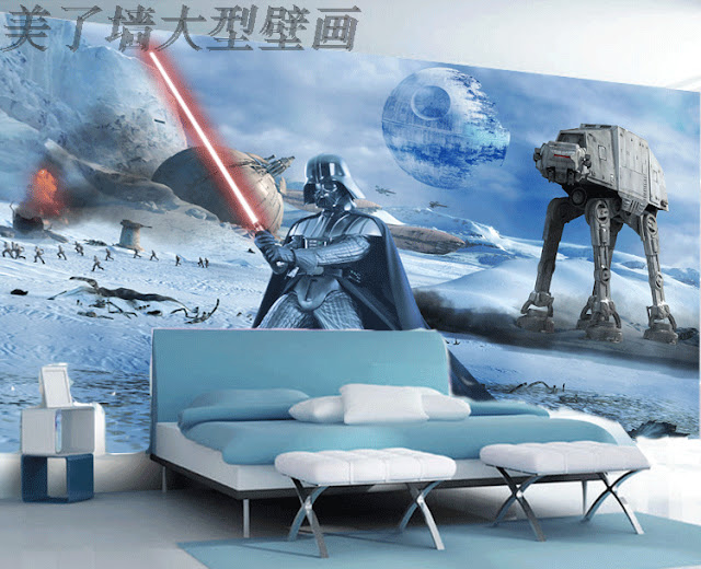 Wallmural Online Star Wars Wall Murals Wallpaper For Walls In Kids Bedroom