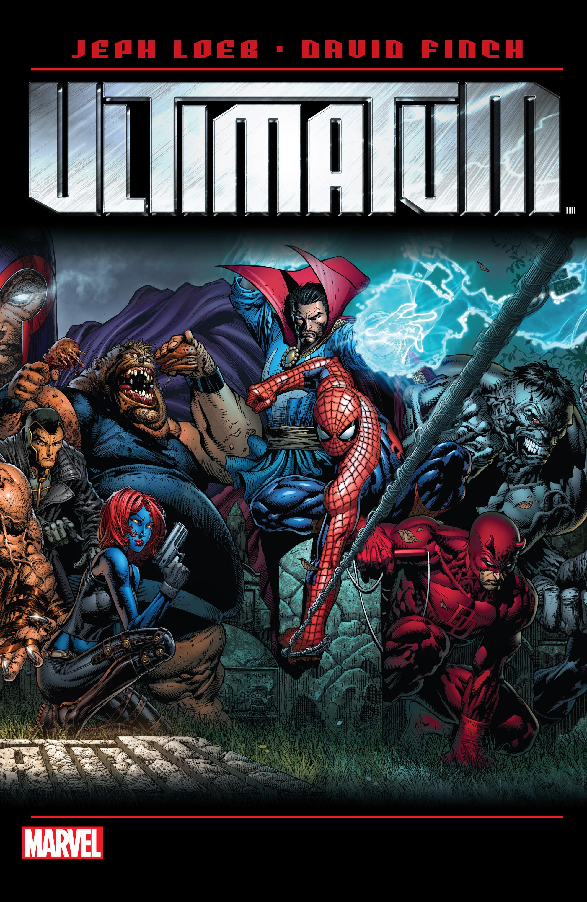 Read online Ultimatum comic -  Issue # _TPB - 1