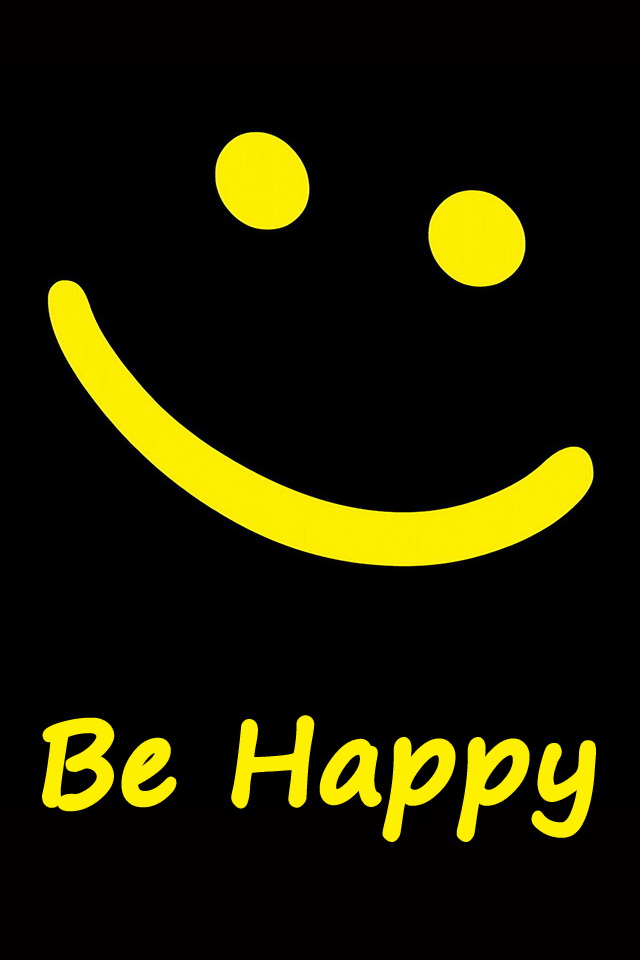 20 sensational smiley wallpapers of iphone 4s smiley symbol iphone happy smiley wallpaper altavistaventures Choice Image