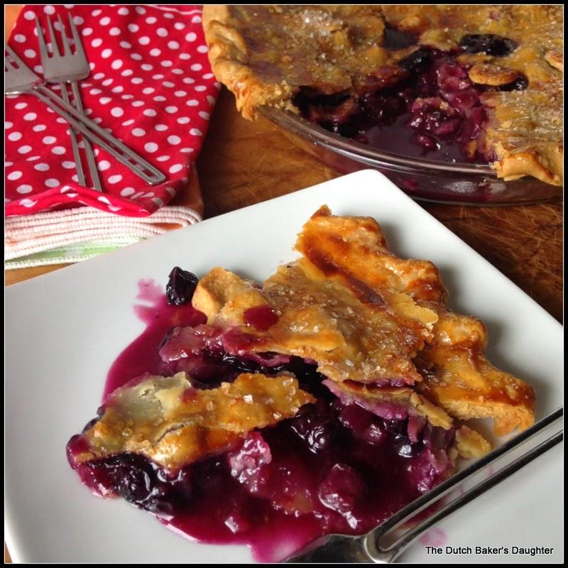 Blueberry-Rhubarb Pie