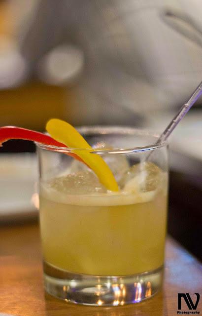 Pineapple and Bell Pepper Margarita