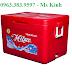 thùng giữ lạnh hải sản, thùng đá dùng trong nhà hàng, giá thùng lạnh 800l
